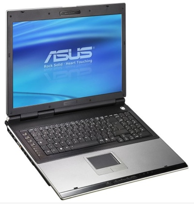 Usterki w laptopie Asua serii A