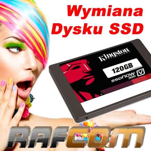Wymiana dysków SSD w laptopach